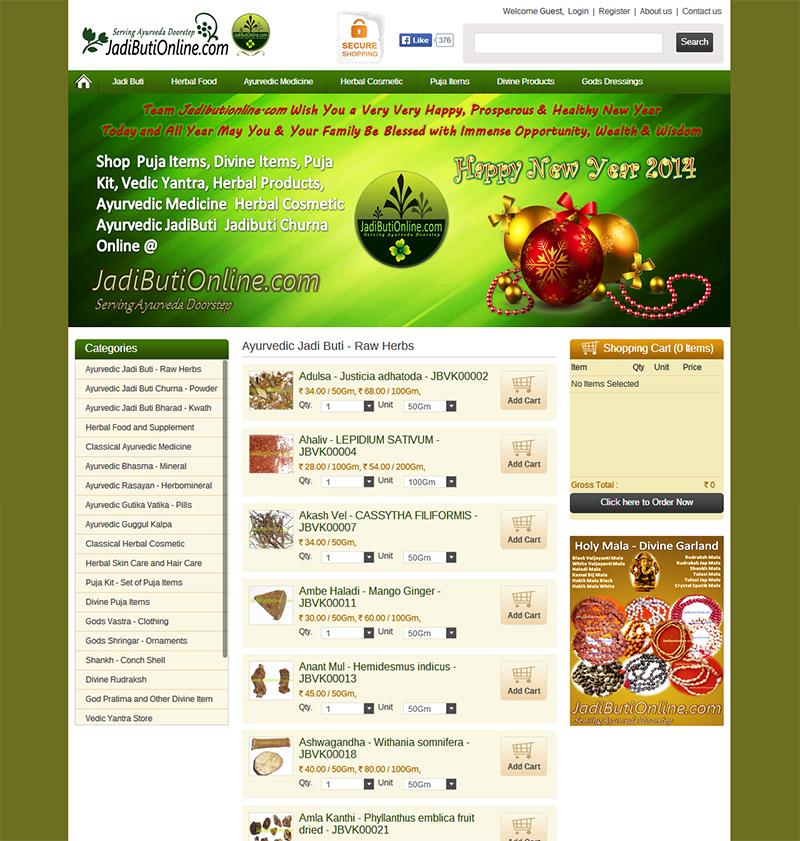 Online Jadibuti store