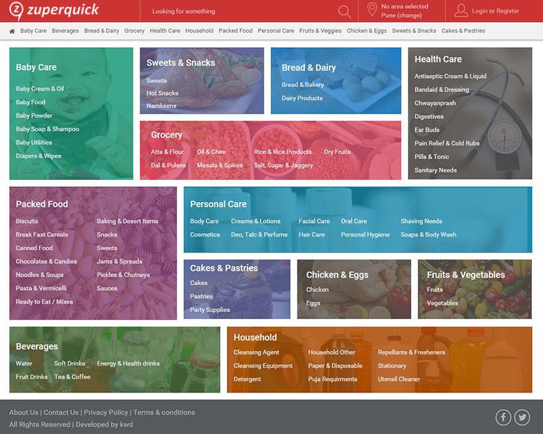 Grocery Ecommerce Website