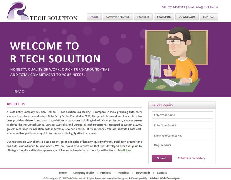professional website designing in pune india