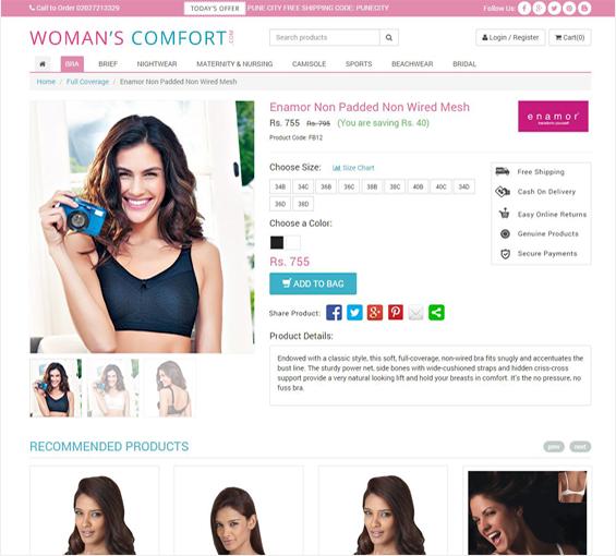 Remarkable ecommerce website development in pune