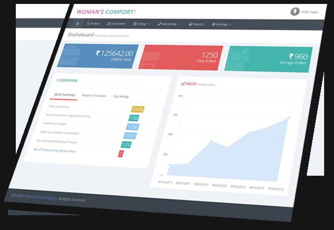 Custom ecommerce website development in pune